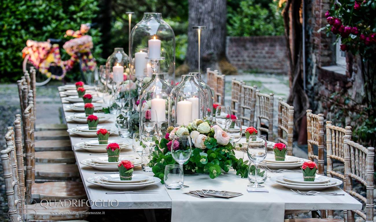 quadrifoglio wedding